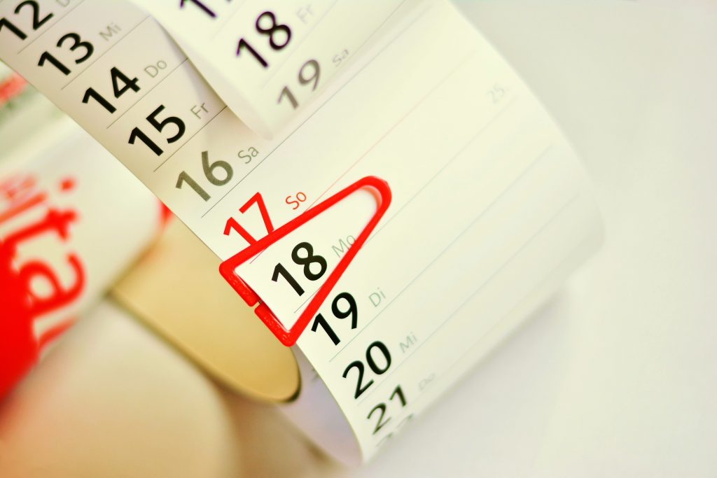 Konstkalendarium almanacka